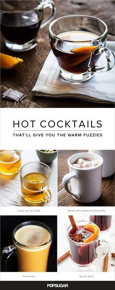 Scandinavia has glogg, Germany and Austria, gluhwein, and in Scotland (and the US), hot toddies are a favorite. As residents of these regions know, there's nothing quite like a hot cocktail to bring cheer during this season of long, cold nights. We've curated an assortment of cozy beverages; keep reading to find your new favorite.