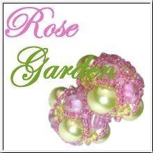 Rose Garden I Immer Wieder Perlen Beading, Beads, Tutorials, Bead Weaving, Twin Beads, Beaded Embroidery