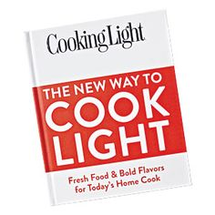 @Cooking Light @Cravebox Giveaway   Our brand new cookbook, The New Way to Cook Light. Find 400 recipes for weeknight, weekend, and special occasion cooking. #gift