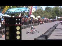 Duel Drag Bike Start Jungkir Balik Yamaha Crypton