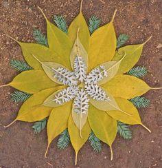 Leaf Mandala