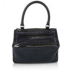 Givenchy Tasche – Pandora Small Bowling Bag Black – in silber, schwarz – Henkeltasche für Damen
