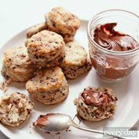 Addie's Easy Biscuits - hot chocolate infused biscuits!