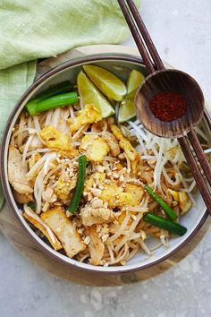 Chicken Pad Thai - how many versions of this recipe do I really need?