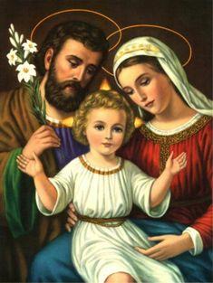 Schema per il punto croce: Sacra Famiglia_3