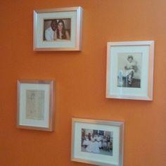 https://flic.kr/p/wZ5RPQ | Family photos #bedroomreno  love the frames #ikea