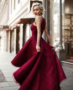 Charming Prom Dress,High Low Prom Dress, Maroon Prom Dress,Prom Dress 2017, Special Ocassion Dresses,Formal Party Dress,Dress For Teens,Graduation Dress
