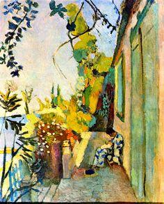 Henri Matisse, The Terrace of Paul Signac at Saint-Tropez on ArtStack #henri-matisse #art