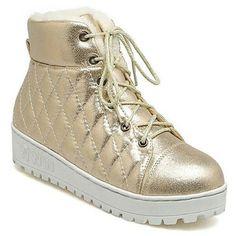 """""""SKU: NH0TDZ29TG04V97 Colors: Golden, Pink, Silver. Size: 37, 38, 39. Price: US$42.91   PKR 4549 Category: Shoes->Boots… #Vivoren #Fashion"""