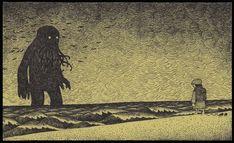 Don Kenn ha creado una miríada de monstruos melacólicos, capaces de inspirar ternura y un hondo desasosiego a una, en post-its. ...