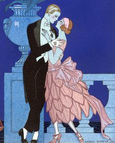 George Barbier dancing couple