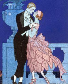 George Barbier dancing couple