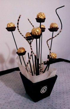 Adorno con chocolates- Christmas idea