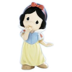 Precious Moments Disney Snow White - Your Kiss Can Put A Smile On The Grumpiest Face.