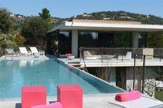 famous neo Provencal villa near golf course