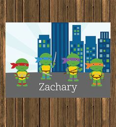 SALE  Personalized Turtle Themed Puzzle by jpurifoy on Etsy