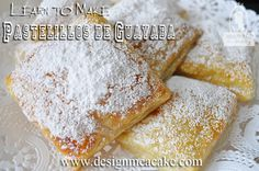 Check out http://designmeacake.com!  These delicious pastries filled with guava paste, known as pastelitos de guayaba, are a popular Latin dessert that you'll find in many Latin countries.