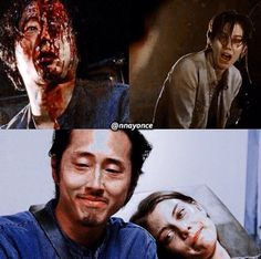 Glenn will never get to see his child :(