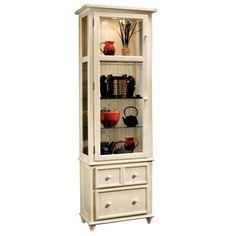 Philip Reinisch Color Time Vista - Contemporary Curio Display Cabinet in Solid Hardwood