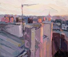 Richard Claremont #Art and #Inspiration - Paris Rooftops - #Oil #Paintings for Sale