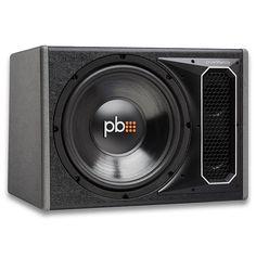 """Cajón Amplificado Powerbass PS-WB121 12"""" 275w RMS"""