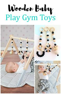I love these wooden play gym toys! Wooden Baby Play Gym seems to be one of the must-have things at the moment. I see it everywhere! It would be a great DIY project but it might be easier to just get one, saves my time lol! Would look amazing in our twin babies nursery, we have a boy and girl, so the colors are gender neutral. #nursery #genderneutral #kidsroom #playgym #diy #etsy #ad