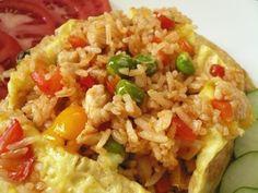 My Kitchen Snippets: Nasi Goreng Pattaya (Pattaya Fried Rice)