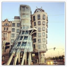 """Dancing House or """"Fred and Ginger"""""""
