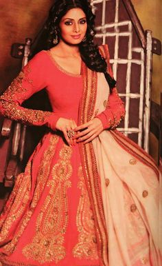 Sridevi in Sabyasachi For Stardust October 2012 Photo Shoot