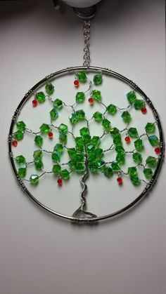 Rowan Tree Tree of Life Suncatcher 5 Ring