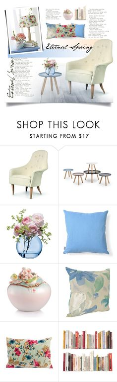 """""""Eternal Spring."""" by rugile-pp ❤ liked on Polyvore featuring interior, interiors, interior design, home, home decor, interior decorating, Normann Copenhagen, LSA International, Heal's and Franz Collection"""