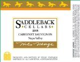 2008 Saddleback Cellars Cabernet Sauvignon 750ml special price #wine #deal Wine Deals, Cabernet Sauvignon, Red, Rouge
