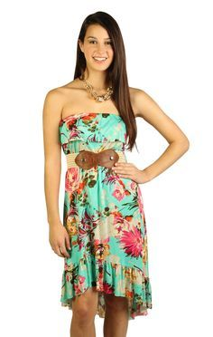 775c57d83a1 thinking a tropical dress would be cute and simple for bridesmaids Tropical  Dress
