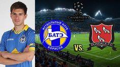 Con Alexei Ríos, Bate Borisov vs. Dundalk FC EN VIVO por Champions League. July 15, 2015.