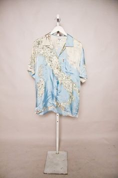 Vintage Italian Map Moschino Blouse