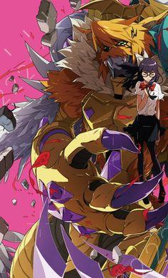 Meiko Mochizuki Digimon Adventure Tri Meicoomon symbosis mega