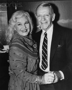 Fred Astaire & Ginger Rogers ....As they grew older.  Loved them.   B.