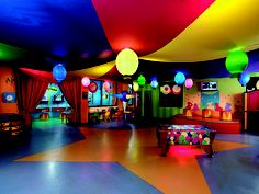 Kids Club at the Moon Palace Family Resort located in Cancun, Mexico.