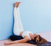 This soothing, restorative posture calms the nervous system, eases muscle fatigue, and helps restore healthy, restful breathing. Many yoga instructors offer it as an antidote to exhaustion, illness, and weakened immunity.