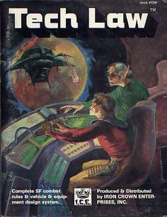Product Line: Spacemaster  Product Edition: SM1  Product Name: Tech Law  Product Type: RPG Game  Author: ICE  Stock #: 9200  ISBN: 0-915795-38-8  Publisher: ICE  Cover Price:   Page Count: 96  Format: Softcover  Release Date: 1985  Language: English