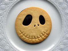 Nightmare Before Snack Time - Jack Skellington Biscuit