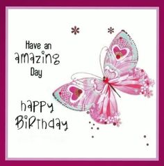 Happy Birthday - butterfly - Custom Collage by lechezz