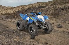 New 2016 Polaris Outlaw® 50 ATVs For Sale in Florida. VooDoo Blue For riders 6 years old and older with adult supervision Includes safety flag, helmet and instructional DVD Children age 6 or older with adult supervision