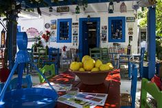 Kos Zia, The watermill cafe