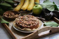 Köstlicher veganer Bananenkuchen