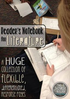 Reader's Notebook for Literature. LOTS of options. LOTS of differentiation. ($)