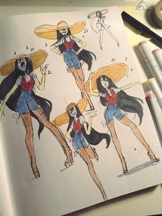 Marcy, Marceline art