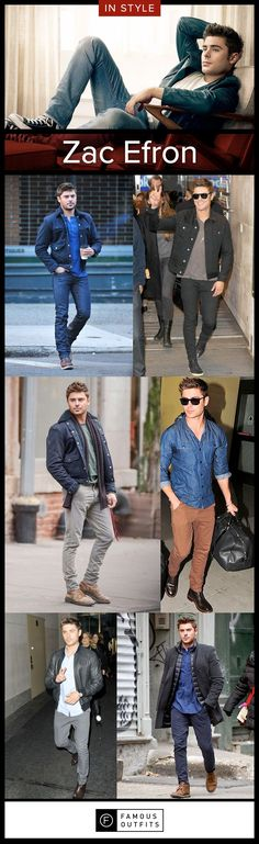 Zac Efron has a great sense of fashion. Check out his looks and learn how you can get the same style.