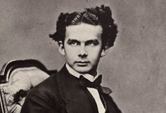 """""""Mad"""" King Ludwig II of Bavaria. Once you've visited his castle, you'll agree – he was nuts."""