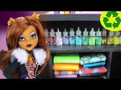How to make fabric bundles for your doll's design studio - Easy Doll Crafts - YouTube